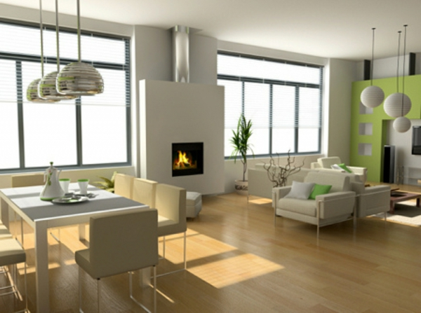 Modernes Dekor Wohnzimmer