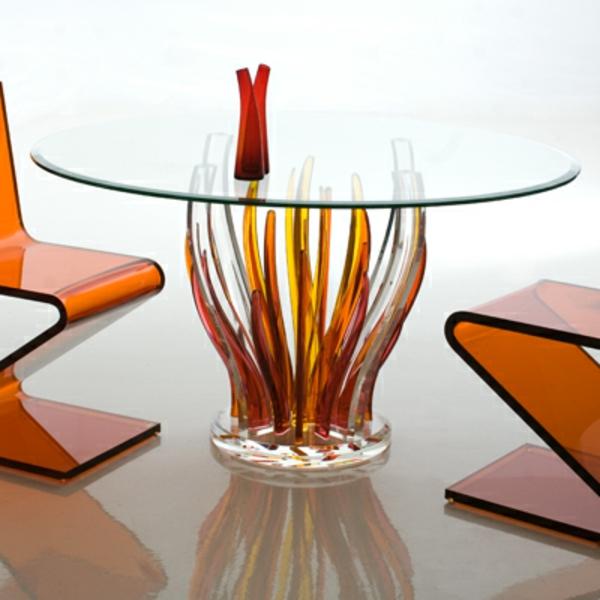 Acryl tisch für eine elegante zimmergestaltung