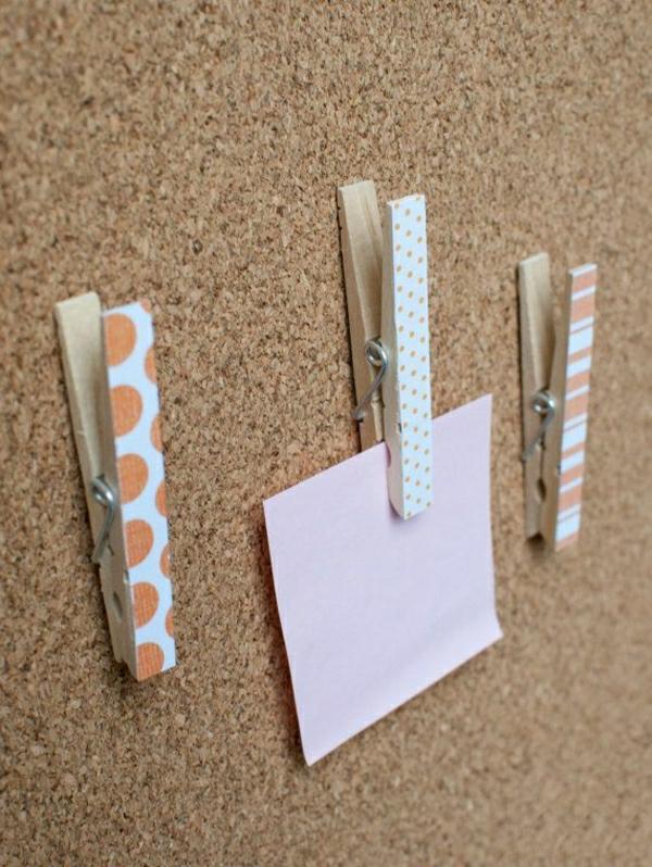 praktische-ideen-bunte-wäscheklammer-bastelideen-mit-wäscheklammern-cooles-design-