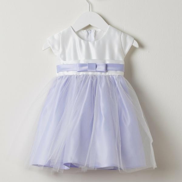 Kleid-lila-weiß