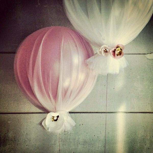 schöne-Ballon-Deko