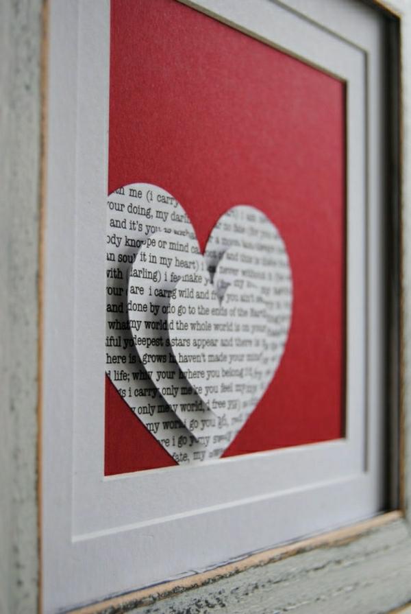 Karten Selber Basteln Valentinstag :  Schönehandgemachtekartenbastelideenkartenvalentinstag
