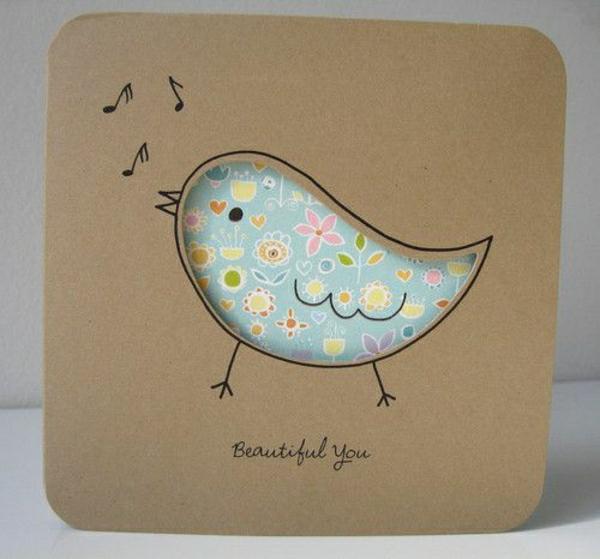 Dankeskarten Selber Basteln : kartenbastelnmitpapierkartenselbermachendiykartenbasteln