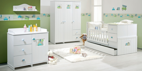 ideen f r babyzimmer. Black Bedroom Furniture Sets. Home Design Ideas