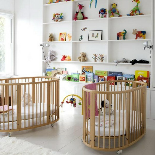 Babyzimmer deko wand  Babyzimmer gestalten - 44 schöne Ideen ! - Archzine.net