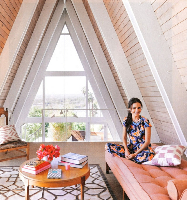 Schlafzimmer mit dachschräge: 34 tolle bilder!   archzine.net