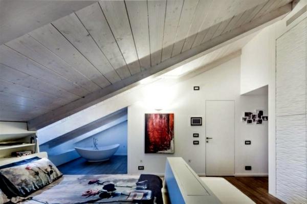 Wohnideen Dachschräge ideen schlafzimmer mit dachschrage möbelideen