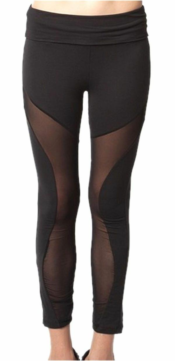 Iiniim Hose Sporthose Transparent Leggings Herren Elastische Yoga frqHfzP