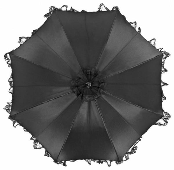 schwarzer-regenschirm-foto-von-oben-genommen