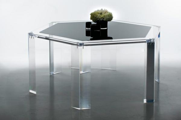 sechseckiges-modell-vom-acryl-tisch