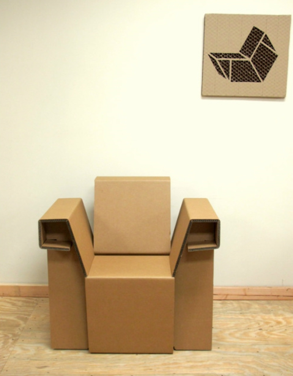 Möbel Aus Pappe 75 Originelle Vorschläge Archzinenet