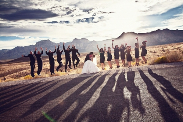 sich-in-las-vegas-heiraten-sehr-lustig - ganz viele freunde