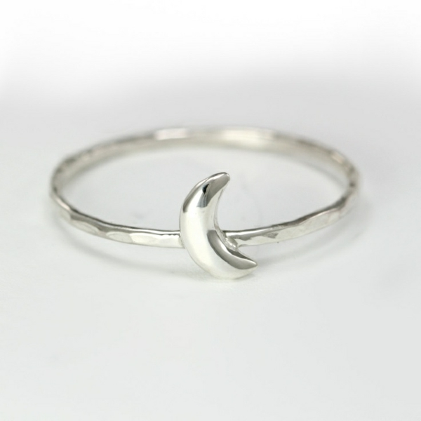 silberring-ringe-kaufen-ring-silber ringe-silber-sterling-silber-mond