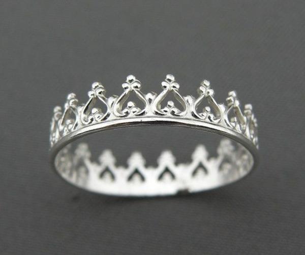 silberring-ringe-kaufen-ring-silber ringe-silber-sterling-silberkrone