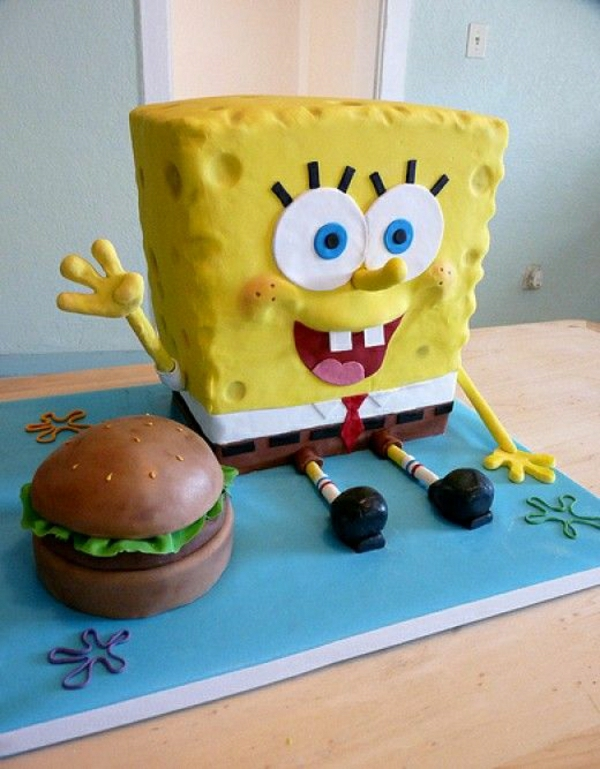 spongebob-torten-torte-bestellen-schöne-torten- torten-verzieren-torten-bilder