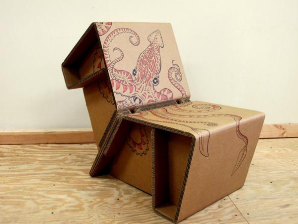 stuhl-aus-pappe-effektvolle-möbel-karton-möbel-