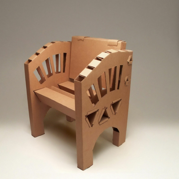 Möbel aus Pappe - 75 originelle Vorschläge! - Archzine.net