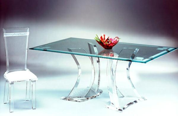 acryl tisch f r eine elegante zimmergestaltung