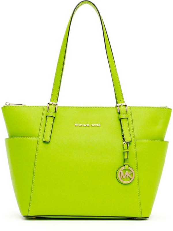 taschen von michael kors michael kors handtasche lime. Black Bedroom Furniture Sets. Home Design Ideas