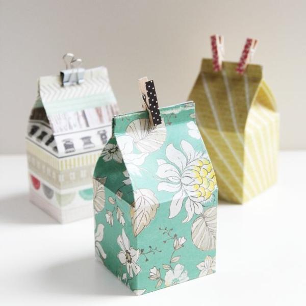 tolle-ideen-für-verpackungen-basteln-originelle-geschenke-zum-verpacken Geschenke verpacken