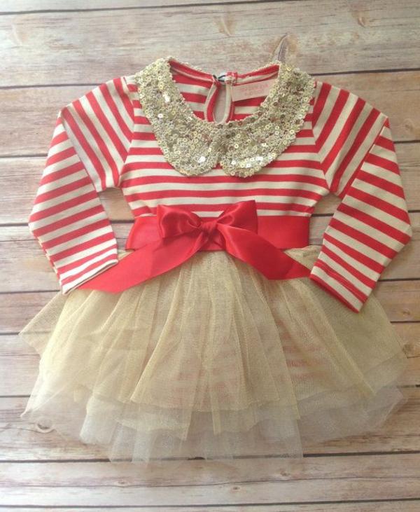 tolles-modell-babykleid-rot-weiß
