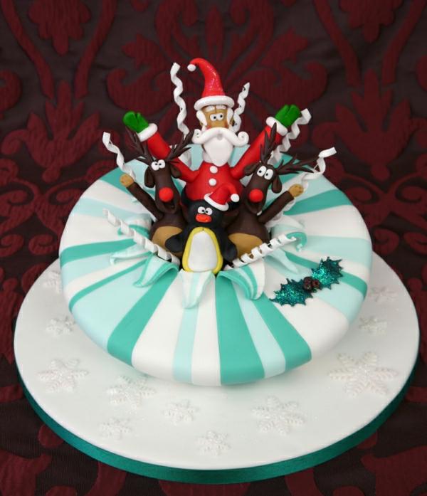 torte-bestellen-schöne-torten- torten-verzieren-torten-bilder-weihnachtsdeko
