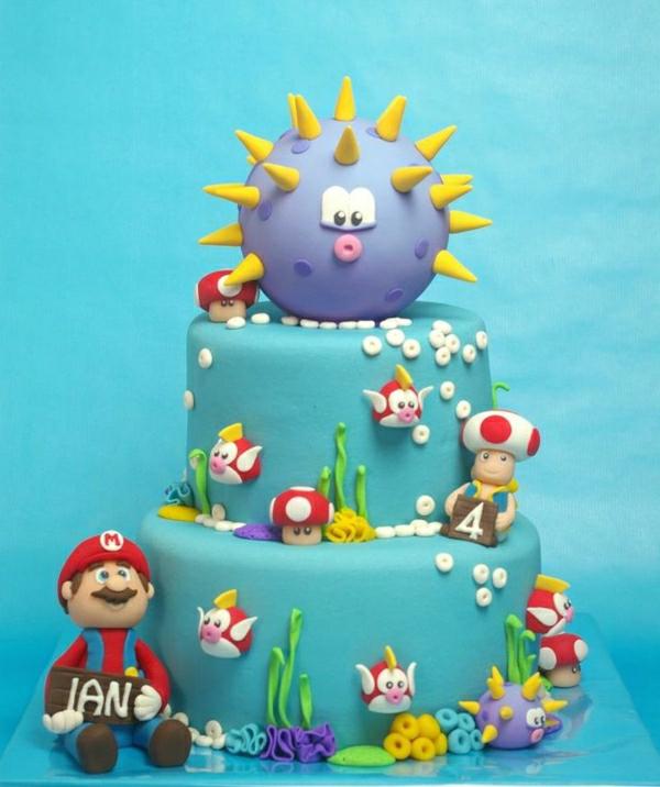 Super Mario Torte  46 erstaunliche Bilder!