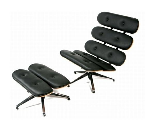 ultramoderne-gestaltung-vom-schwarzen-schicken-liegestuhl-aus-zwei-teilen