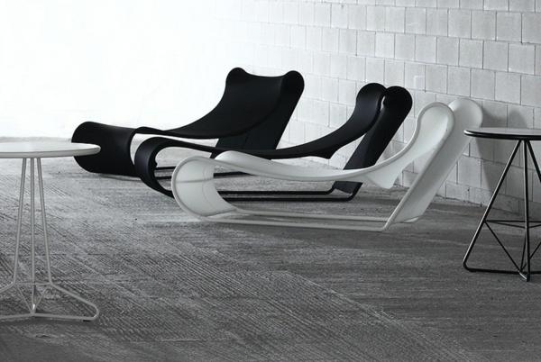 vondom surf moderne liegestuhl designs patio