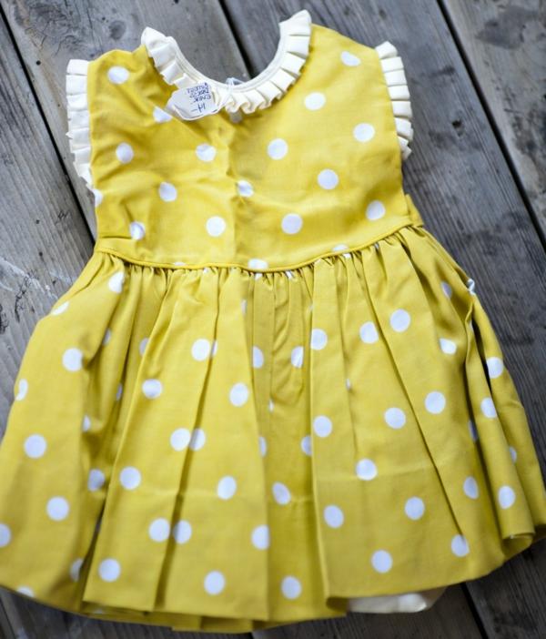 vintage-baby-kleid-gelb