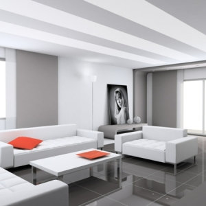 Weißes Interieur: 34 verblüffende Fotos!