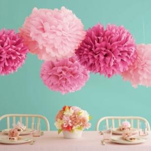 Blumen aus Krepppapier - 52 süße Bilder