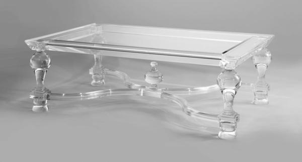 Acryl tisch für eine elegante zimmergestaltung archzine net