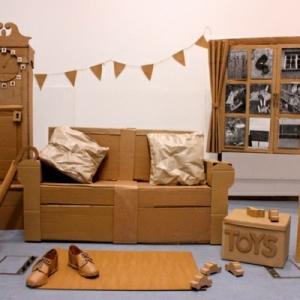 Möbel aus Pappe - 75 originelle Vorschläge!
