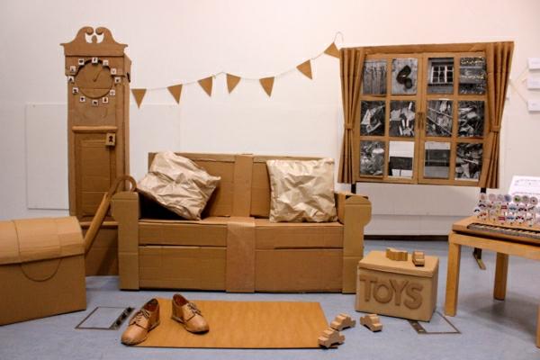 zimmer-möbel-aus-pappe-wohnideen-basteln-mit-karton-kartone--
