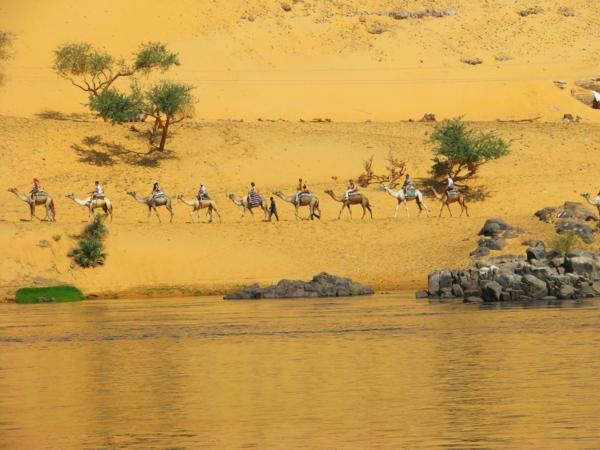 Ägypten-Reise-schöne-natur - reines wasser daneben