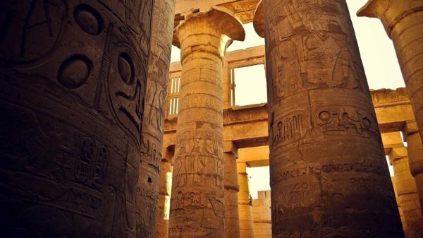 Ägypten-Reise-wunderschöne-säulen - tolles foto