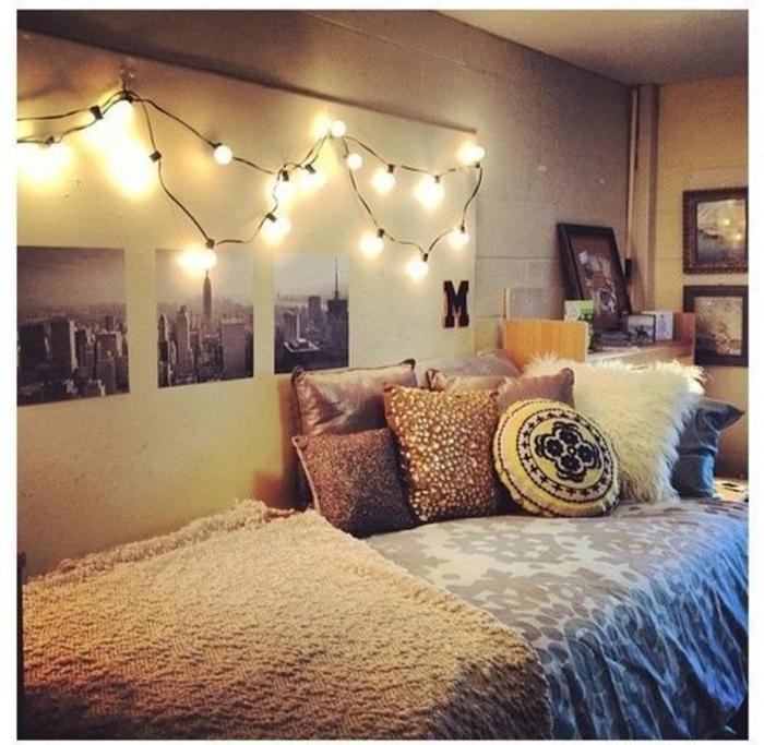 Boho-Schlafzimmer-Leuchten-an-der-Wand