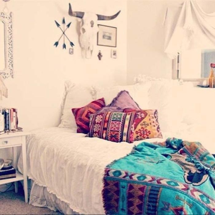 Boho-Stil-Schlafzimmer-Design