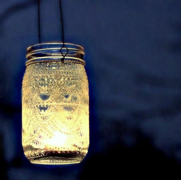 hängende-Einweckglas-Laterne-Henna-Muster-marokkanischer-Stil