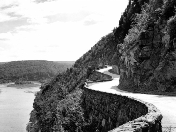 Felsen-Weg-See