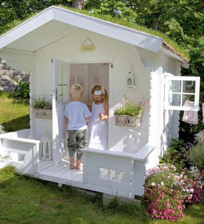 Gartenhaus-Spielraum-Kinder