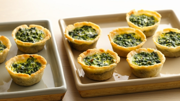 Gluten Free Spinach Mini Quiches Brunch Ideen