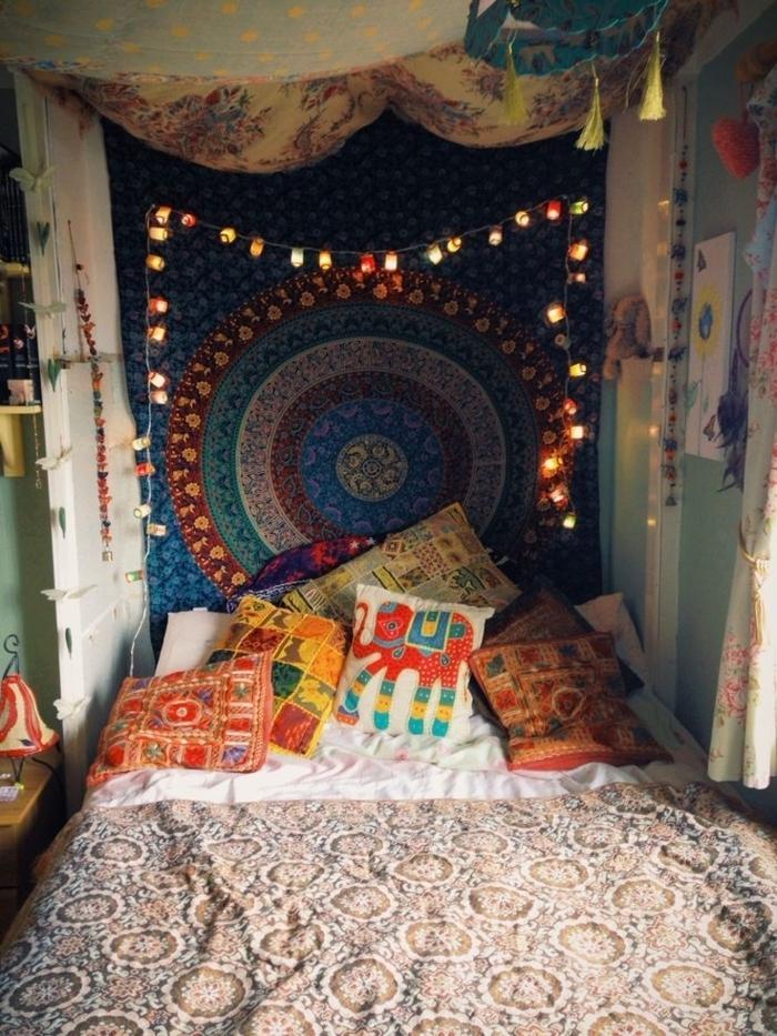 Dorm rooms lights - 70 Bilder Schlafzimmer Ideen In Boho Chic Stil