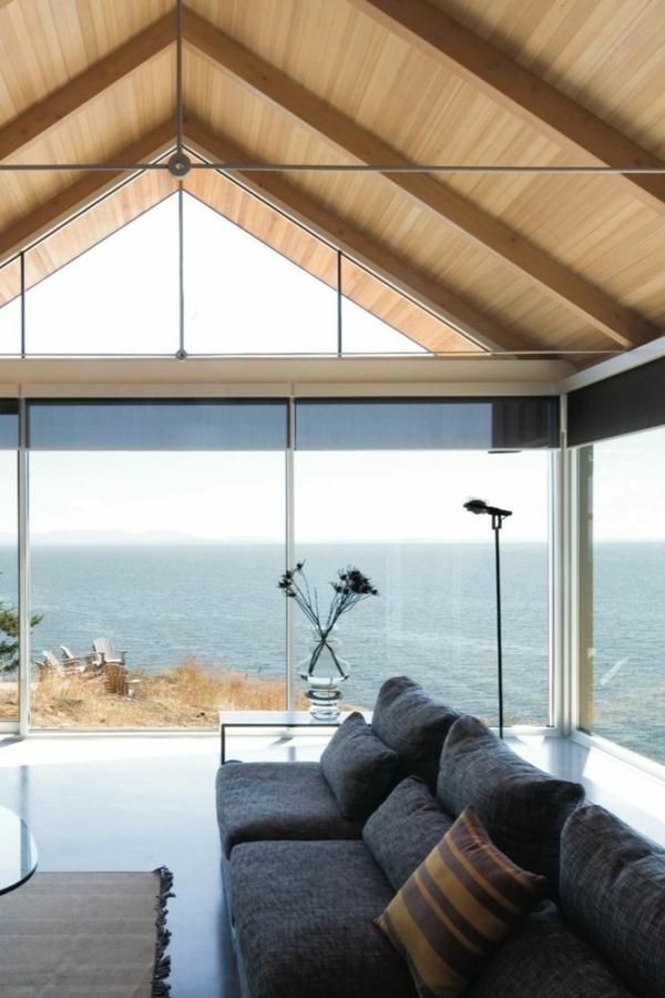 Insel-Kanada-dreieckiges-Dach
