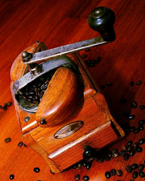 Kaffeebohnen-Mühle