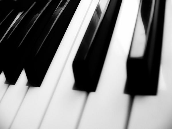Klaviertasten-Foto