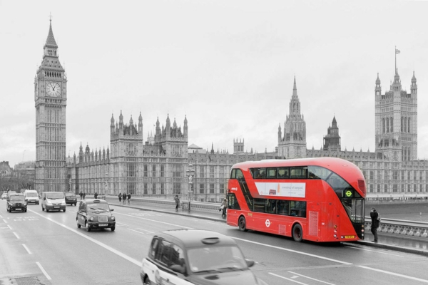 London-Big-Ben-roter-Bus