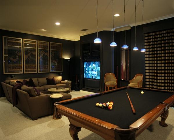 Media-Raum-Spieltisch-Billiarde