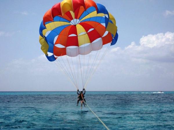 Para-Sailing-Meer-Himmel-Tandemflug-Wassersport